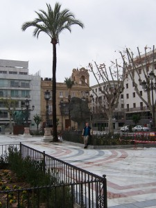 Sculpture Exhibition in Plaza Nueva in Sevilla