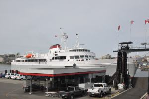 The Coho at the Dock