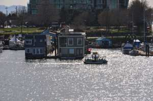 House Boats at Fishermans Wharf