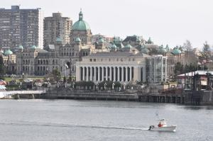 Coho Ferry Terminal in Victoria's Inner Harbour